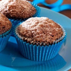 Sugar-Topped Mocha Cupcakes