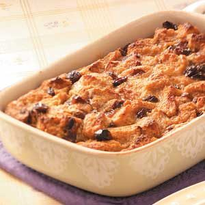 Cinnamon-Raisin Bread Pudding