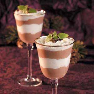 Chocolate-Caramel Mousse Parfaits