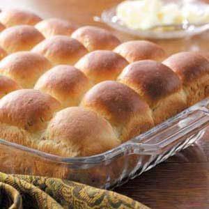 Herb Potato Rolls