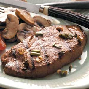 Marinated Sirloin Steaks