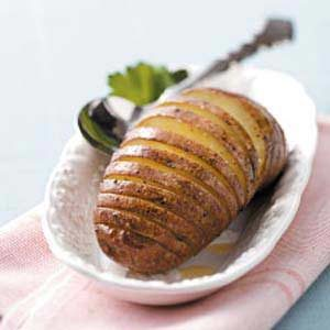 Grilled Fan Potatoes
