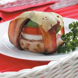 Grilled Veggie Pork Bundles