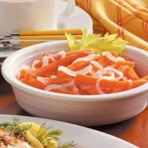 Julienned Carrots 'N' Onion