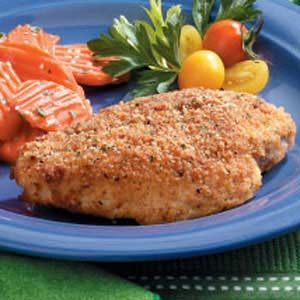 Crumb-Coated Chicken