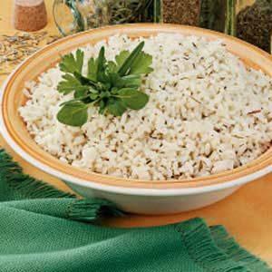Quick Herbed Rice