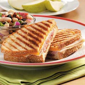 Grilled Sourdough Clubs