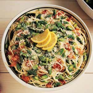 Asparagus Spaghetti