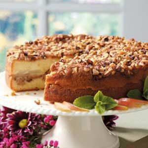 Walnut Pear Coffee Cake