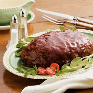 Home-Style Glazed Meat Loaf