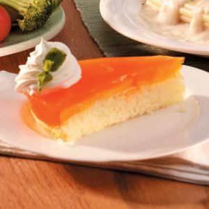 Peach-Topped Cake