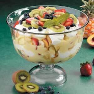 Six-Fruit Trifle