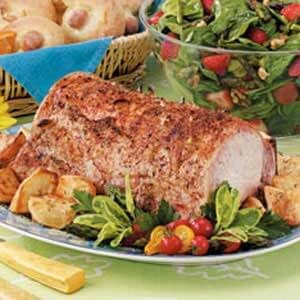 Pork Loin with Potatoes