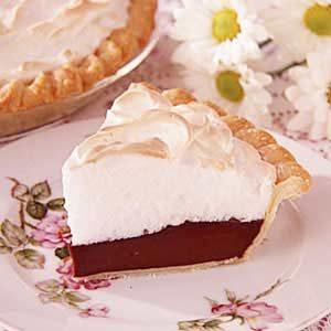 Grandma's Chocolate Meringue Pie