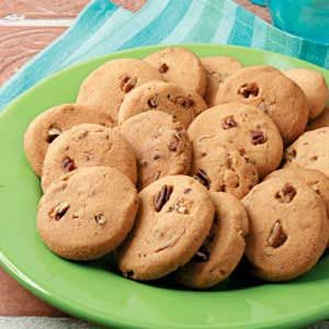 Crisp Butter Pecan Cookies