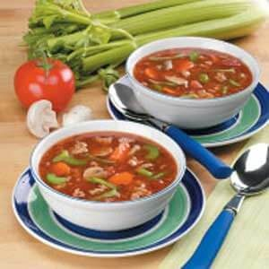 Vegetable Turkey Soup