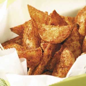 Seasoned Yukon Gold Wedges