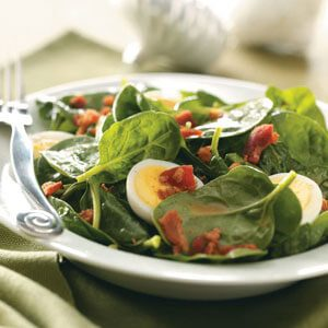 Emily's Spinach Salad