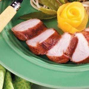 Grilled Turkey Tenderloins with Ginger-Garlic Marinade