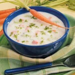 Creamy Chunky Potato Soup