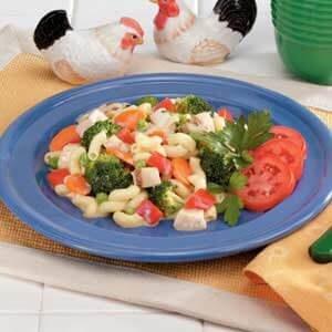 Macaroni Chicken Skillet