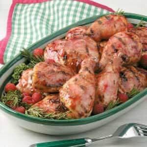 Grilled Raspberry Chicken
