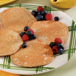 Hearty Multigrain Pancakes