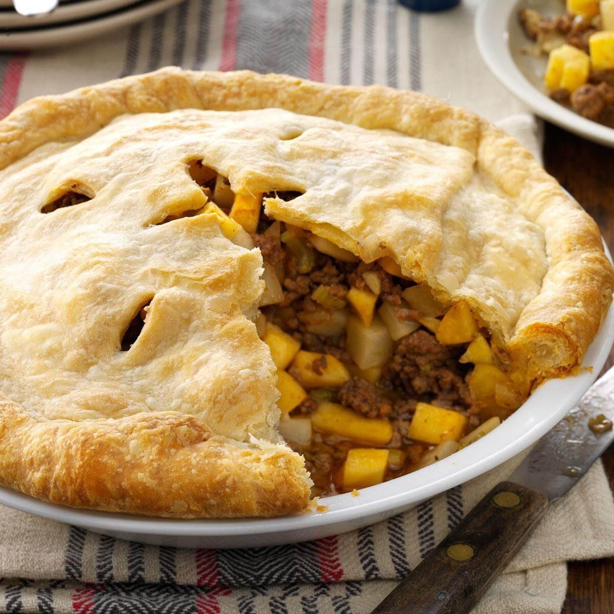 Rutabaga Pie