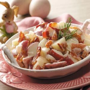 Creamy German Potato Salad