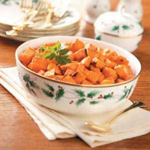 Candied-Ginger Sweet Potatoes