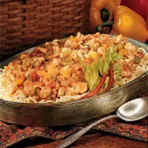 Bayou Chicken Pasta