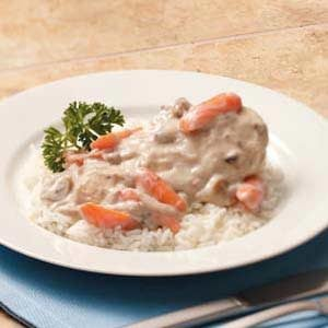 Creamy Chicken and Carrots