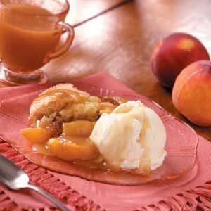 Contest-Winning Peach Cobbler