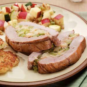 Pork Tenderloin With Stuffing Recipe Taste Of Home