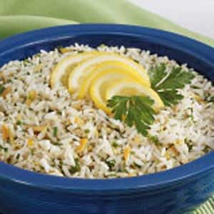 Lemony Herbed Rice