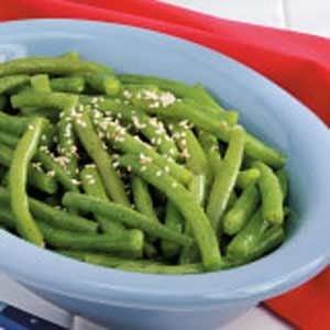 Marinated Green Beans