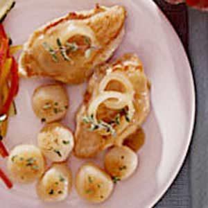 Chicken and Potato Saute