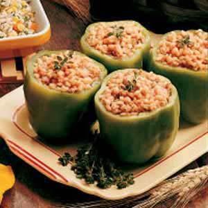Barley-Stuffed Peppers