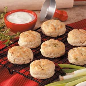 Onion Herb Biscuits