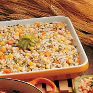 Barley and Corn Casserole