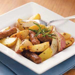 Rosemary Potatoes with Sausage