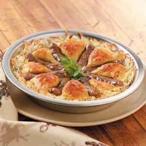 Wagon Wheel Breakfast Pie