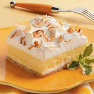 Creamy Coconut Dessert