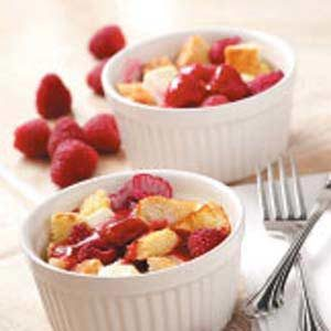 Raspberry French Toast Cups