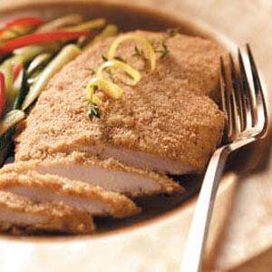 Crisp Dijon Chicken