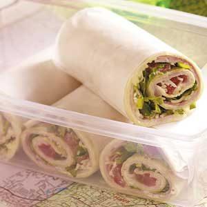 Savory Ham Wraps
