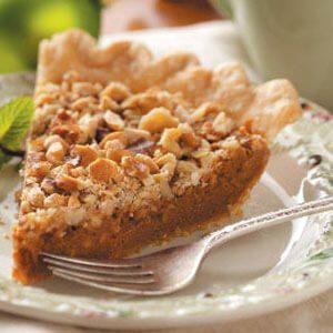 Caramel Nut Pie
