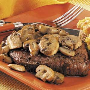 Broiled Sirloin Steaks