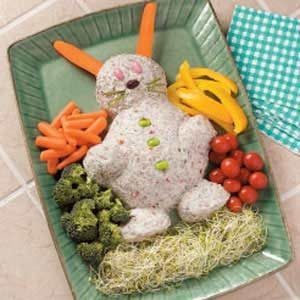 Easter Bunny Cheese Spread