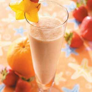 Fruit and Milk Smoothie
